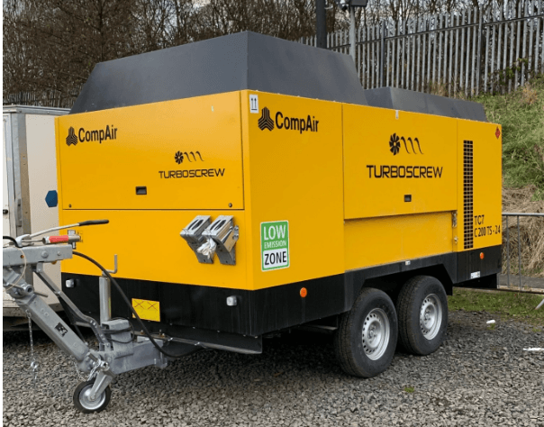 New Tier 4 Compliant Compressor Added to the Water Well Drilling Fleet