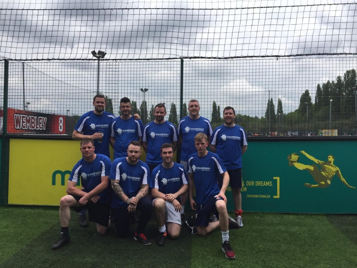 Causeway footballers finish runners-up in BDA 5-aside tournament