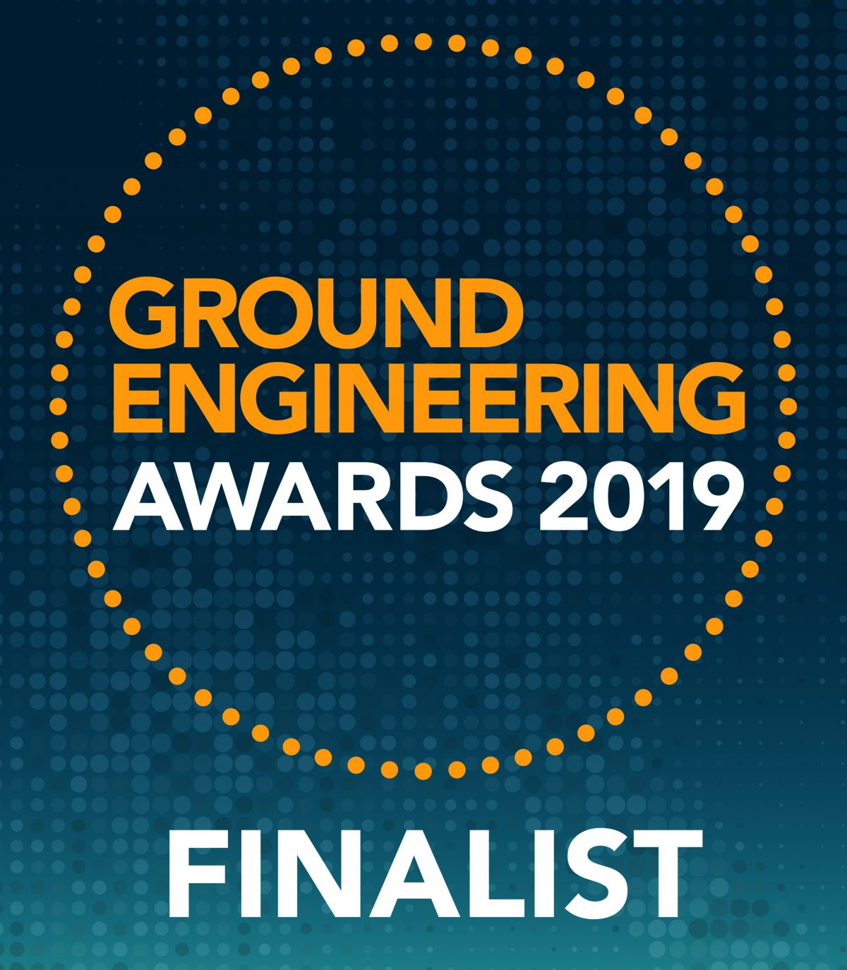 Causeway Geotech shortlisted for the Ground Engineering Awards 2019