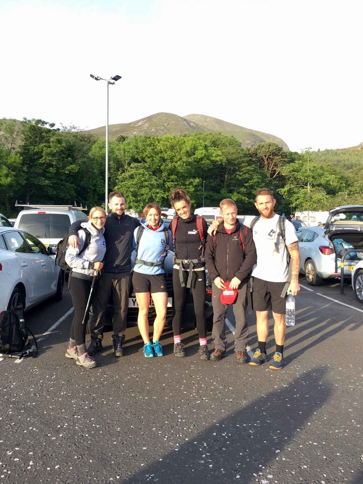 Causeway Lab Manager Completes Mourne Seven Summits Challenge for Cancer Focus NI